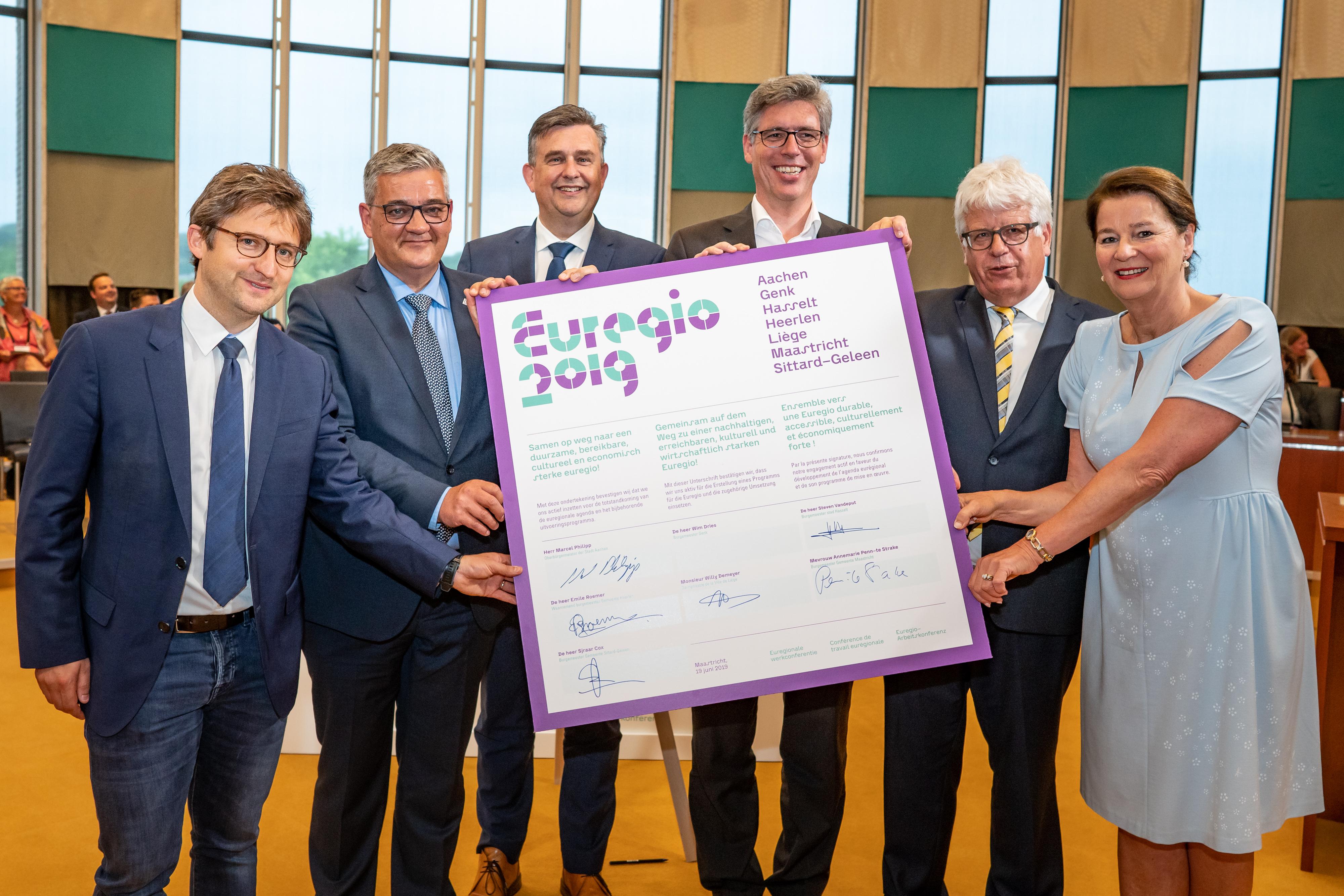 Euregionale partners maken afspraken voor benutten kansen