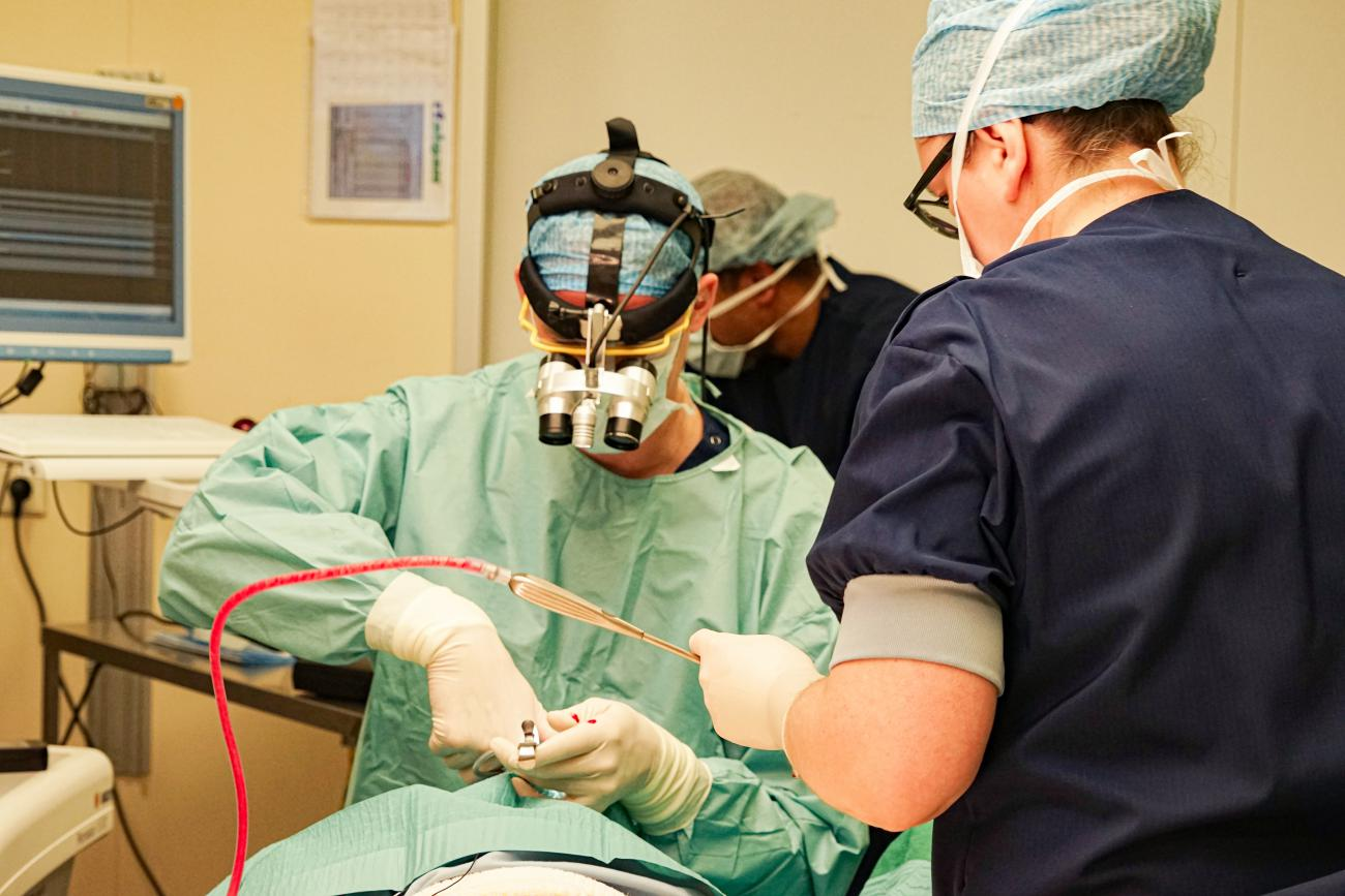 Chirurgische hoofdloep in onderwijspilot Maastricht UMC+