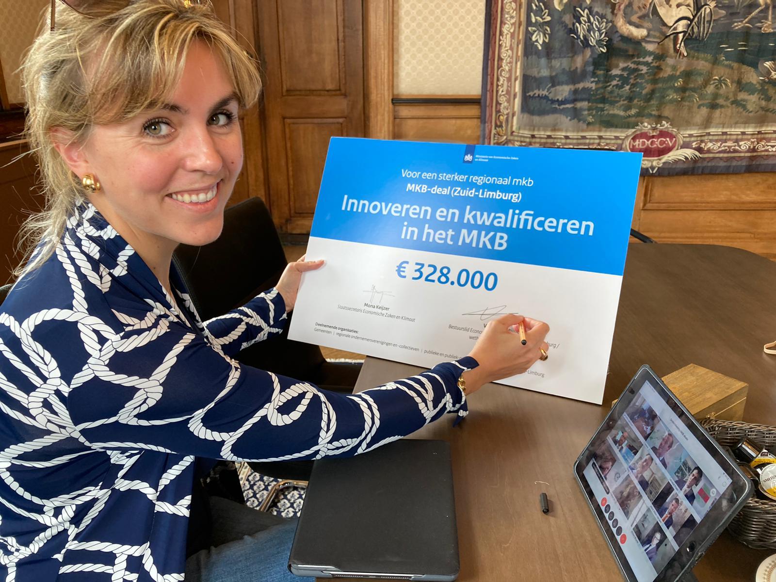 Ruim 7 miljoen euro uit actieplan voor regionaal MKB, o.a. in Limburg